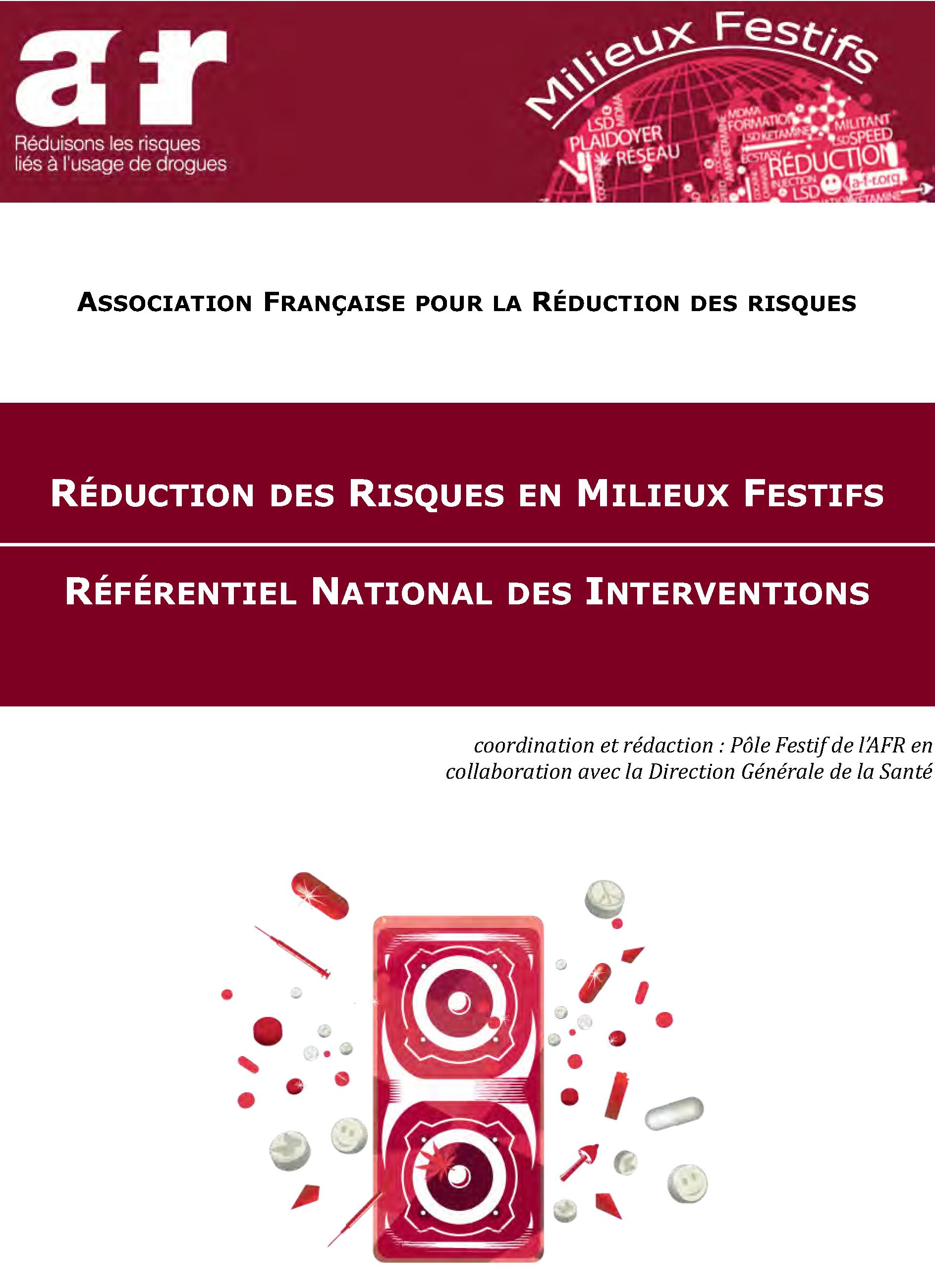 2012 [AFR] Référentiel national des interventions de RdR en milieux festifs couv