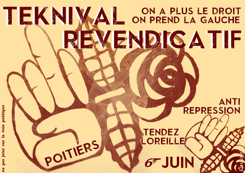 6 juin 2015 : Teknival On a pas le droit, on prend la Gauche