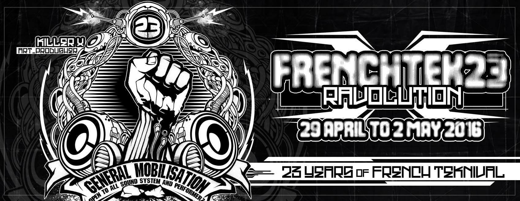 RaveOlution 23 : un teknival revendicatif non négociable du 29 avril au 2 mai