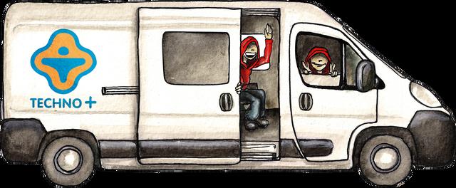 Un camion pour Techno+ à l'Ouest – Financement participatif Ulule