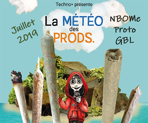 Bulletin Météo des Prods en vidéo | Juillet 2019